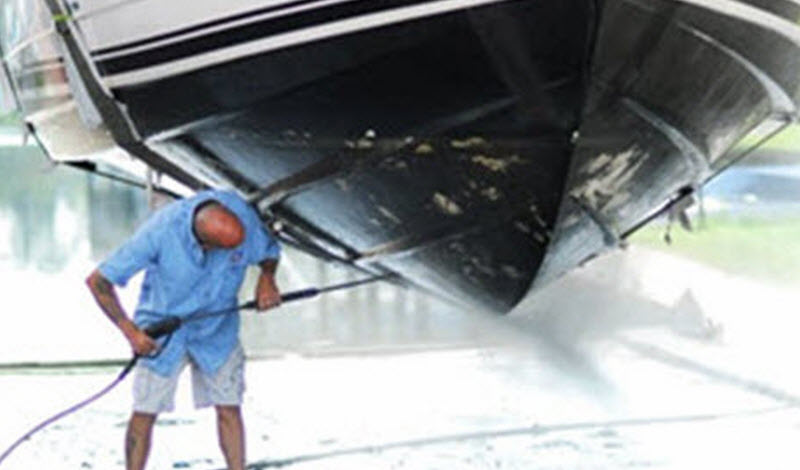 Marine Anti-fouling Services