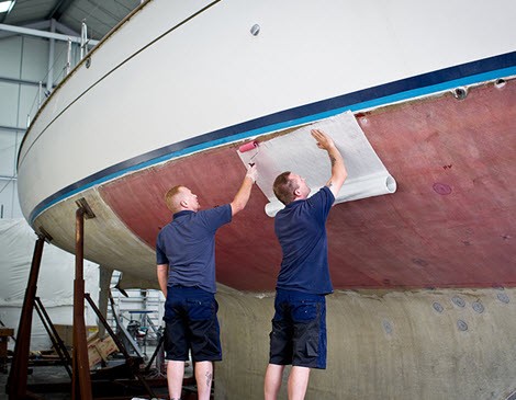 Marine Fiberglass and Gelcoat Repairs